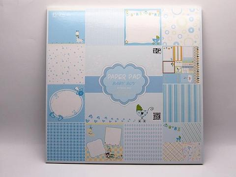 Scrapbook paper pad single-sided (customized is available)