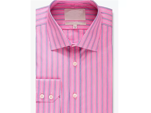 Men's  Long Sleeve Dress Shirt Business