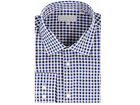 2018 hot sale wholesale USA checked shirt body fit shirts