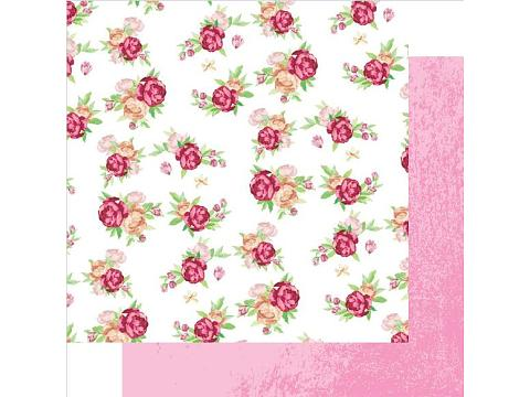Floral Colorful Patterned Paper for Cardmaker and scrapbooking craft