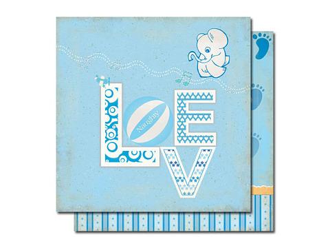 Scrapbook paper pack for boy memory