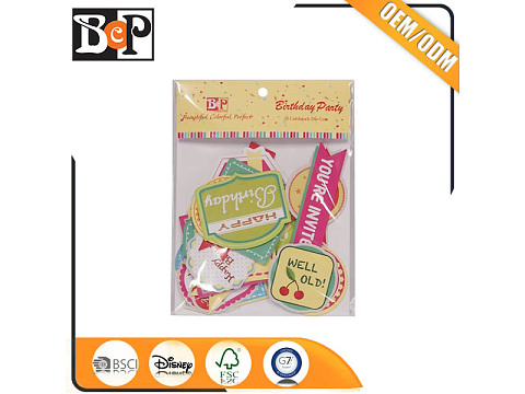 Printed scrapbook die cut kits