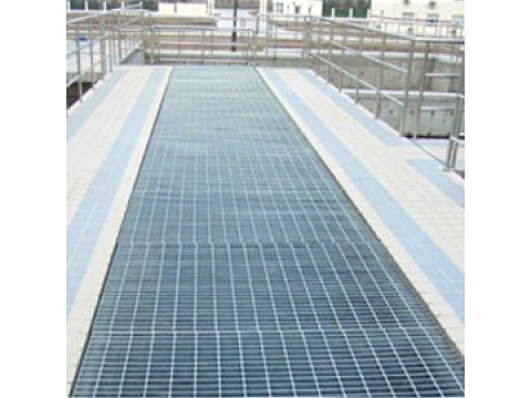 Safety Steel Grating Platform and Walkway with Better Stiffness