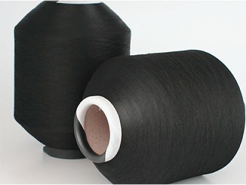 Nylon covered spandex yarn for circular machine